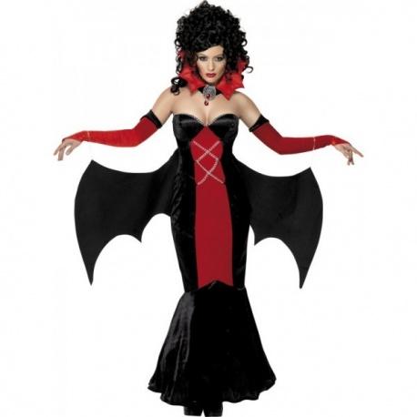 kostým gotické upíří dámy