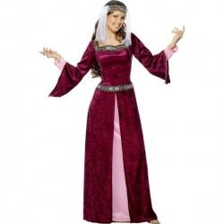 Kostým hradní paní
