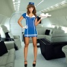kostým letušky