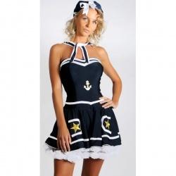 Kostým stylové námořnice
