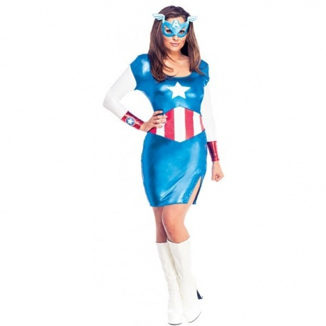 Kostým kapitánky Amerika