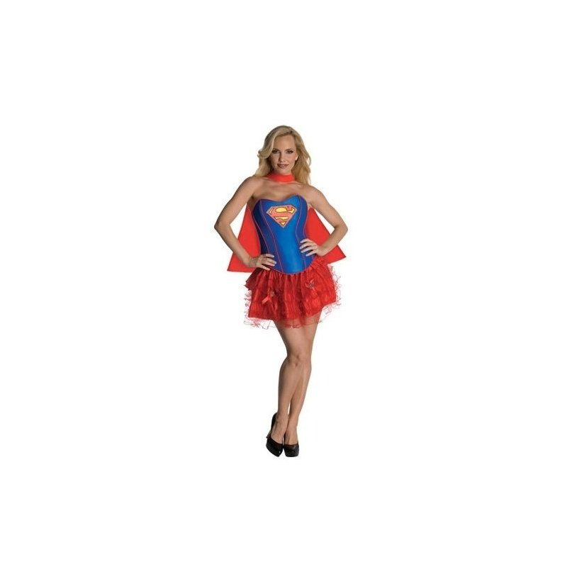 Komiksový kostým supermanky d1c1a760e7b