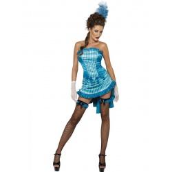 Kostým kankánová tanečnice