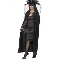 Čarodějnický plášť černý