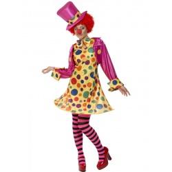 Kostým dámský klaun