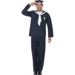 Kostým Námořník - modrý