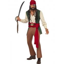 Kostým piráta z lodi