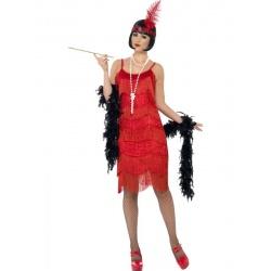 Kostým prohibice - červený