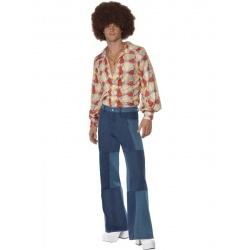 Záplatované kalhoty - 1970s style