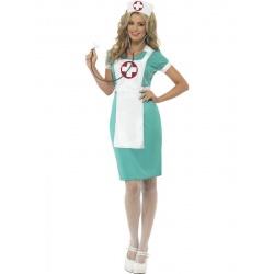 Kostým Zdravotní Sestřička - zelená