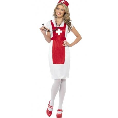 Kostým Zdravotní sestřička - červená