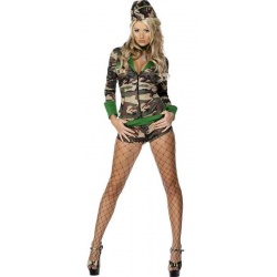 Vojenský sexy kostým