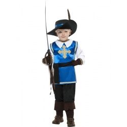 Dětský kostým mušketýra