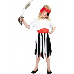Maškarní kostým pirátky