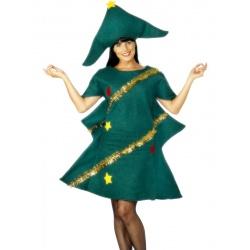 Kostým sexy vánoční stromeček