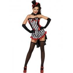 Kostým Sexy upírka - burlesque