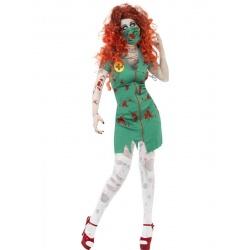 Kostým zombie sálová sestra