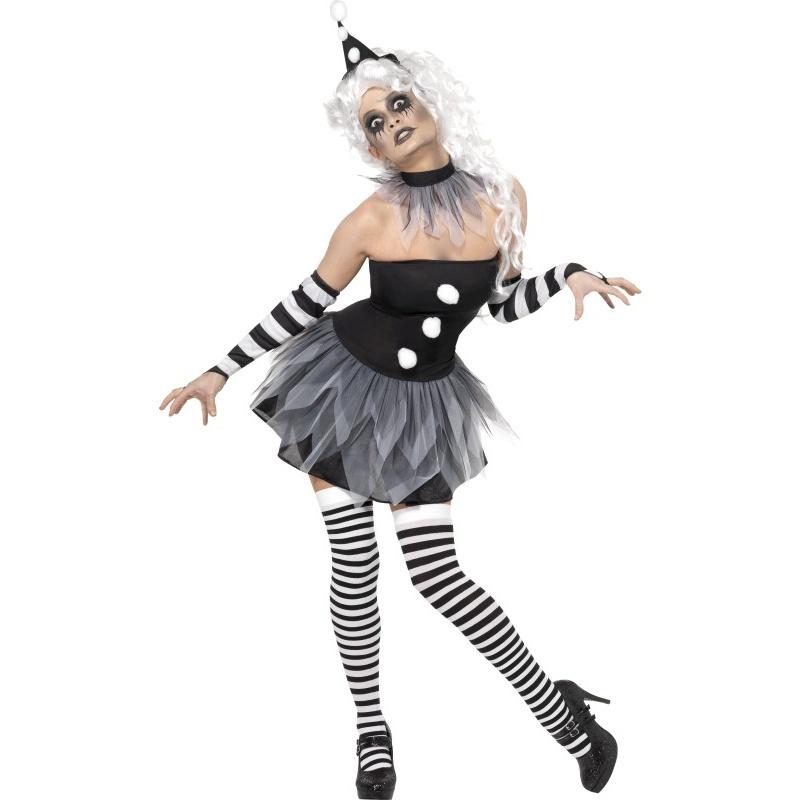 Kostým Pierot halloween - půjčovna kostýmů Praha 102288b63e