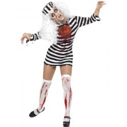 Kostým zombie vězeňkyně