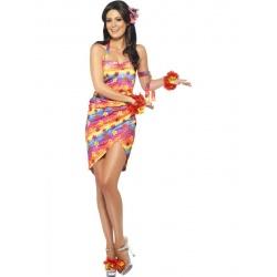Kostým květinová havajanka