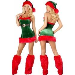Sexy vánoční skřítek