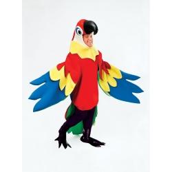 Maskot - kostým papouška