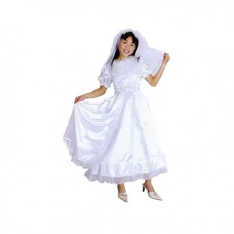 Kostým malé nevěsty