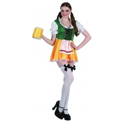 Beer lady - kostým bavorky