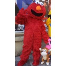Maskot Red Elmo - Sesam Street