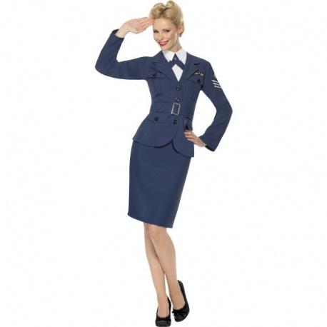 Kapitánka Air force kostým