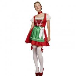 Lady - kostým bavorky červený