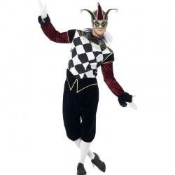 Pánský kostým gotického harlequina