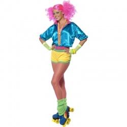 Kostým - Bruslařka