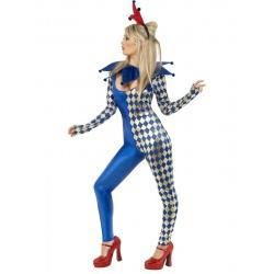 Sexy Kašpárek - kostým Harlequin