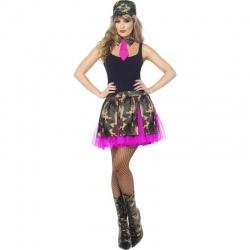 Kostým - Vojanda pink