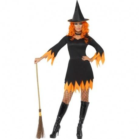 Kostým Oranžová čarodějka