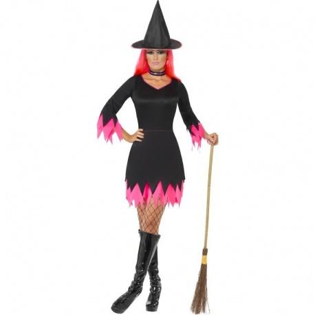 Kostým Ružová čarodějka