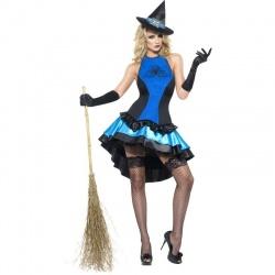 Kostým Čarodějka Spider blue