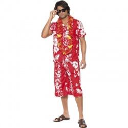Kostým Hawai - červený