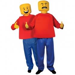 Kostým Lego panáček