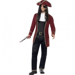 Kostým Pirátský kapitán