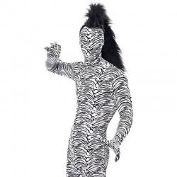 Kostým zebrovaný morphsuit