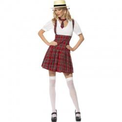 Kostým kárované školačky