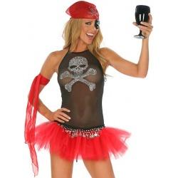 Kostým sexy pirátky