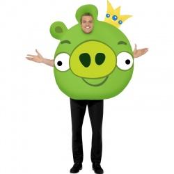 Kostým Angry Birds - zelený