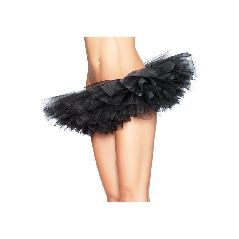 Tutu sukně - spodnička - černá řasená 92d3ca7844