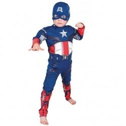 Dětský licenční kostým kapitán Amerika