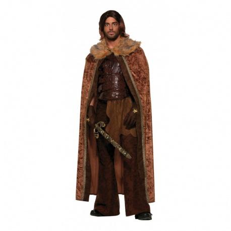 Středověký hnědý plášť
