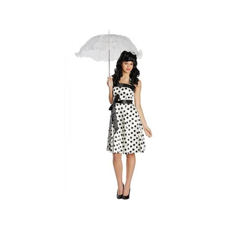 4565ee0faddc Retro šaty 50tá léta - bílé