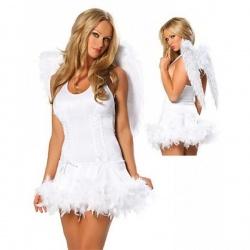 Kostým bílého anděla